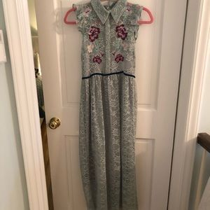 Beautiful Lace Floral Dress